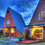Accommodation Deal - A-FRAME CHALETS @ MOKUTU - LOVELY RURAL SETTING AND A GREAT POOL AREA