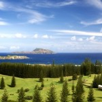 beautiful ocean view from Norfolk Island