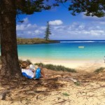 relaxing on Norfolk Island